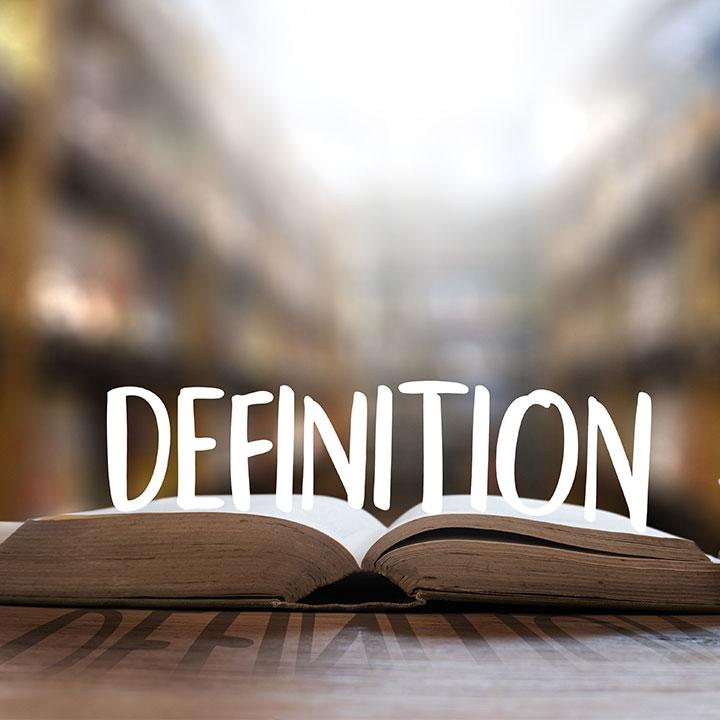 いくつかの定義が存在する
